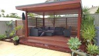 Fully Furnished Timber Outdoor Patio
