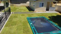Turf with Outdoor Trampoline