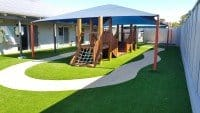 Outdoor Dog Training Ground with Artificial Lawn