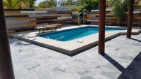 Travertine and Marble Swimming Pool Paving Perth