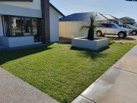 Garden Grass and Reticulated Turf Installation Perth