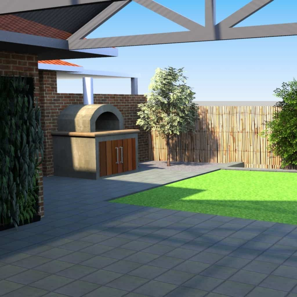 2D Paving and Landscaping Design Ideas