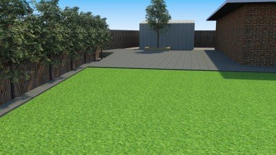 Synthetic grass installation and concrete paving Perth