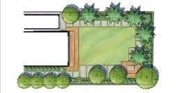 2D Low-Maintenance Landscape Design Perth